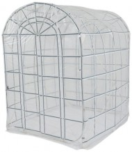 Flower-House-FHCL566CLW-Pop-Up-Classic-Greenhouse-Storage-Shed-White-0