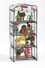 Flowerhouse-FHPT400CL-63-Inch-by-27-Inch-by-19-Inch-4-Shelf-Plant-Tower-0