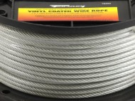 Forney-70452-Wire-Rope-Vinyl-Coated-Aircraft-Cable-250-Feet-by-18-Inch-thru-316-Inch-0-0