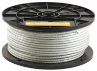 Forney-70452-Wire-Rope-Vinyl-Coated-Aircraft-Cable-250-Feet-by-18-Inch-thru-316-Inch-0-1