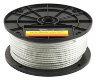 Forney-70452-Wire-Rope-Vinyl-Coated-Aircraft-Cable-250-Feet-by-18-Inch-thru-316-Inch-0