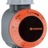 GARDENA-ZoomMaxx-Sprinkler-on-Sled-Base-with-Water-Timer-0-1