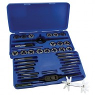 GreatNeck-DT40M-Metric-Tap-and-Die-Set-41-Piece-0