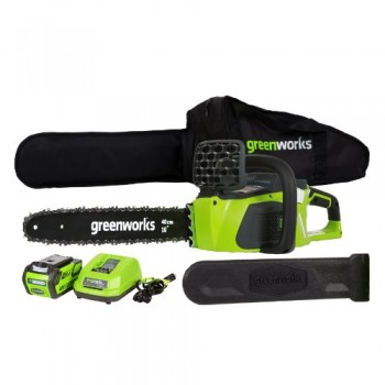 GreenWorks-20312-DigiPro-G-MAX-40V-16-Inch-Cordless-Chainsaw-with-4ah-battery-and-charger-0