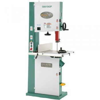 Grizzly-G0513X2F-2-HP-Extreme-Series-Bandsaw-with-Cast-Iron-Trunnion-and-Foot-Brake-17-Inch-0