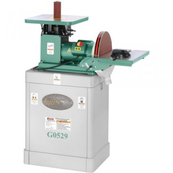 Grizzly-G0529-Oscillating-SpindleDisc-Sander-12-Inch-0