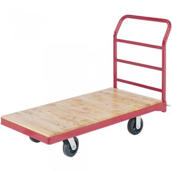 Grizzly-H3026-Wheeled-Platform-Truck-with-Wood-Slats-0