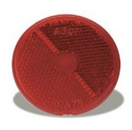 Grote-40072-25-Red-Round-Stick-On-Reflector-0-0