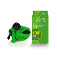 InSassy-TM-100-FT-Green-Gardener-Expandable-Hose-with-Spray-Nozzle-0