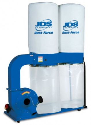 JDS-Company-14050-Dust-Force-3-Horsepower-2500-CFM-Dust-Collector-with-1-Micron-Bags-0
