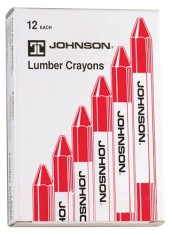 Johnson-Level-Tool-3512-R-Lumber-Crayons-Red-12-Pack-0