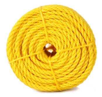Koch-5000836-Twisted-Polypropylene-Rope-14-by-100-Feet-Yellow-0