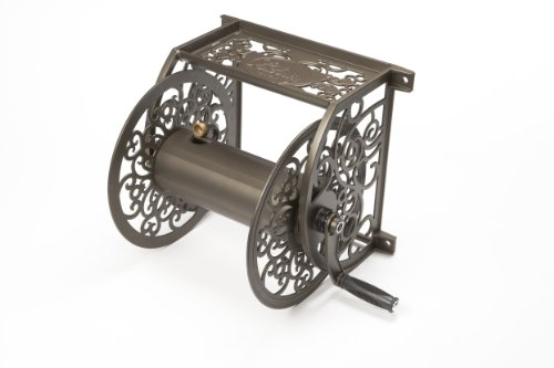 Liberty Garden 705 Wall Mount Cast Aluminum Hose Reel