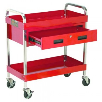 Maxworks-40102-Steel-Service-Cart-with-Locking-Drawer-30-Inch-Long-by-16-Inch-Wide-350-Pound-Capacity-0