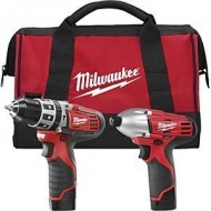 Milwaukee-2497-22-M12-12-Volt-Cordless-Lithium-Ion-2-Tool-Combo-Kit-Hammer-Drill-and-Impact-Driver-0