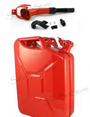 Nato-Jerry-Gas-Can-20L528G-Military-Spec-Gasoline-Jeep-Hummer-RED-W-Spout-Spare-Gasket-0