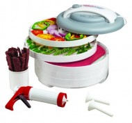 Nesco-American-Harvest-FD-61WHC-Snackmaster-Express-Food-Dehydrator-All-In-One-Kit-with-Jerky-Gun-0