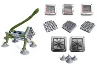 New-Star-Commercial-Restaurant-Quality-French-Fry-Cutter-Complete-Set-0