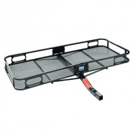 Pro-Series-63153-60-x-24-Hitch-Mounted-Cargo-Carrier-Black-0-0