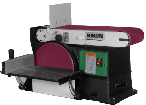 Rikon 50 120 6 by 48 inch belt 10 inch disc sander for 10 sanding disc for table saw