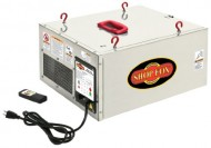 Shop-Fox-W1830-18-HP-Single-Phase-3-Speed-260362409-CFM-Hanging-Air-Filter-with-Remote-Control-and-Timer-0