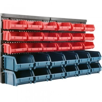 Stalwart-75-92226-30-Bin-Wall-Mounted-Parts-Rack-0