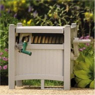 Suncast-100-Foot-Capacity-Garden-Hose-Reel-Hideaway-with-Hose-Guide-Taupe-PHT100-0-0