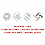 Sunmile-16HP-8-Stainless-Steel-UL-Meat-Grinder-SM-G73-600W-Rated-Power-and-1000W-Max-Power-WFull-Set-Of-AccessoriesStainless-Steel-Cutting-BladeStainless-Steel-Cutting-PlatesSausage-Stuffing-1-Year-Ma-0-4