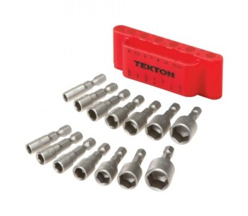 TEKTON-2938-Quick-Change-Power-Nut-Driver-Bit-Set-with-Detents-14-Piece-0