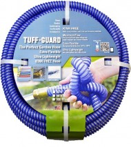 Tuff-Guard-The-Perfect-Garden-Hose-Kink-Proof-Garden-Hose-Assembly-Blue-58-Male-x-Female-GHT-Connection-58-ID-25-Foot-Length-0-0