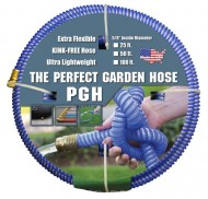 Tuff-Guard-The-Perfect-Garden-Hose-Kink-Proof-Garden-Hose-Assembly-Blue-58-Male-x-Female-GHT-Connection-58-ID-25-Foot-Length-0