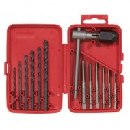 Vermont-American-21698-13-Piece-High-Carbon-Steel-Tap-and-Drill-Bit-Set-with-Plastic-Case-0