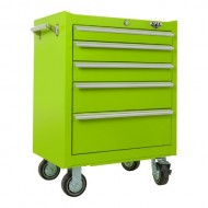 Viper-Tool-Storage-LB2605R-26-Inch-5-Drawer-18G-Steel-Rolling-Cabinet-Lime-Green-0-0