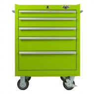 Viper-Tool-Storage-LB2605R-26-Inch-5-Drawer-18G-Steel-Rolling-Cabinet-Lime-Green-0-1