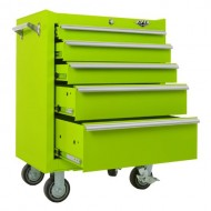 Viper-Tool-Storage-LB2605R-26-Inch-5-Drawer-18G-Steel-Rolling-Cabinet-Lime-Green-0