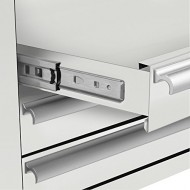 Viper-Tool-Storage-V1804WHR-18-Inch-4-Drawer-18G-Steel-Rolling-ToolSalon-Cart-White-0-2