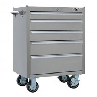 Viper-Tool-Storage-V2605SSR-26-Inch-5-Drawer-304-Stainless-Steel-Rolling-Cabinet-0-0
