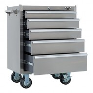 Viper-Tool-Storage-V2605SSR-26-Inch-5-Drawer-304-Stainless-Steel-Rolling-Cabinet-0