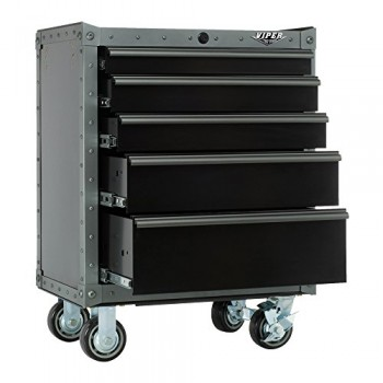 Viper-Tool-Storage-VV2605BLT-R-Armor-26-Inch-5-Drawer-Rolling-Cabinet-0