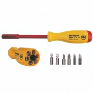 Wiha-38007-Multi-Bit-Screwdriver-Slotted-Phillips-and-Square-Drivers-Set-1000-Volt-0