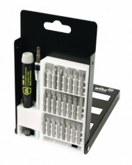 Wiha-75992-System-4-Precision-Interchangeable-Bit-Set-Torx-Slotted-Phillips-Hex-Inch-ESD-Safe-Precision-Handle-27-Piece-In-Compact-Box-0