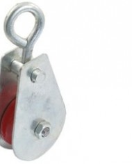 03-Ton-Swivel-Single-Red-Sheave-Lifting-Rope-Pulley-Silver-Tone-Shell-0-0