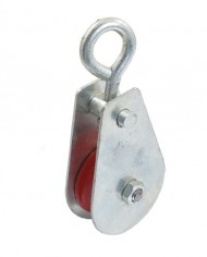 03-Ton-Swivel-Single-Red-Sheave-Lifting-Rope-Pulley-Silver-Tone-Shell-0