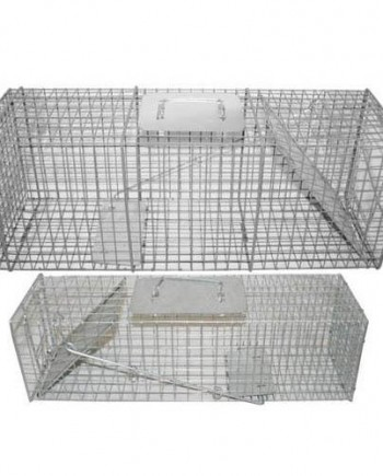 2-Pack-2-Pack-Live-Humane-Animal-Trap-Cage-Pest-Relocation-Traps-24-and-32-Long-0