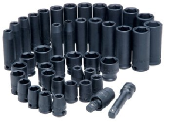 ATD-Tools-4601-38-Drive-6-Point-42-Piece-SAEMetricStandard-and-Deep-Impact-Socket-Set-0