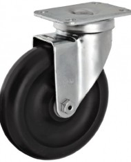 Albion-02-Series-5-Diameter-Polypropylene-Wheel-Light-Duty-Institutional-Swivel-Caster-Delrin-Bearing-3-58-Length-X-2-12-Width-Plate-350lbs-Capacity-Pack-of-4-0