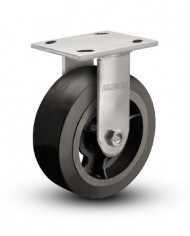 Albion-16-Series-Industrial-Medium-Duty-Caster-8-x-2-Mold-On-Rubber-on-Iron-Wheel-Rigid-Caster-0