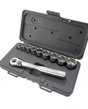 Craftsman-10-pc-6-pt-38-in-Drive-Standard-Socket-Wrench-Set-0