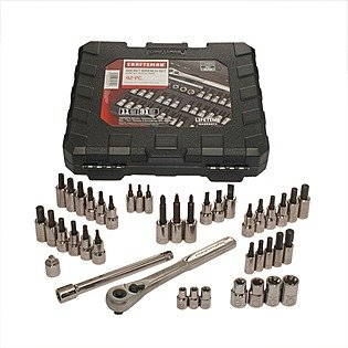 Craftsman-42-piece-14-and-38-inch-Drive-Bit-and-Torx-Bit-Socket-Wrench-Set-9-34845-0
