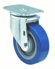 ER-Wagner-Americaster-Plate-Caster-Swivel-Dust-Cover-Polyurethane-on-Polyolefin-Wheel-Delrin-Bearing-250-lbs-Capacity-3-12-Wheel-Dia-1-14-Wheel-Width-4-58-Mount-Height-3-34-Plate-Length-2-34-Plate-Wid-0
